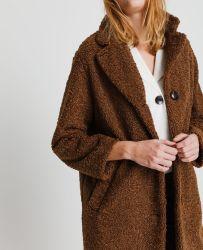 Manteau en maille bouclette - PIMKIE