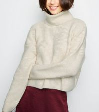 Pull col roulé NEW LOOK