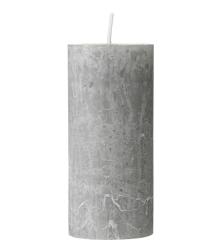 Bougie rustique grise 11x5cm - 1,50€ - HEMA
