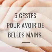 5 gestes pour de belles mains en hiver