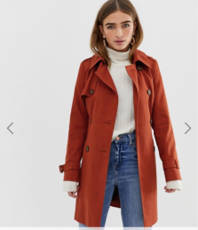 asos - trench coat - 51,99€