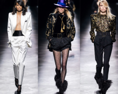 SAINT LAURENT - PARIS FASHION WEEK