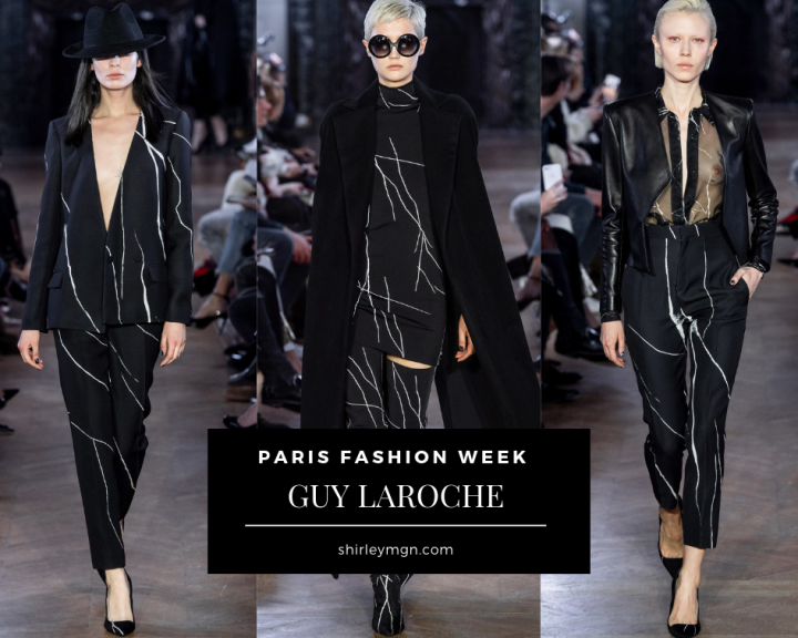 GUY LAROCHE - PARIS FASHION WEEK