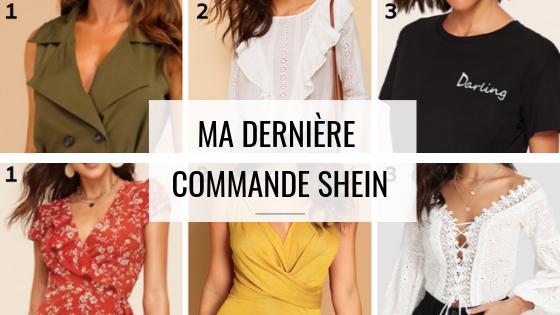 Commande Shein